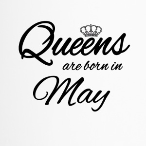 Queens Born May Prinzessin Geburtstag Birthday Mai - Thermobecher