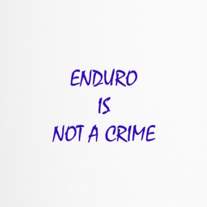 enduro is not a crime - Travel Mug