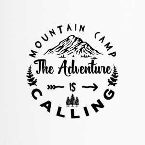 Mountain Camp The Adventure is Calling - Travel Mug