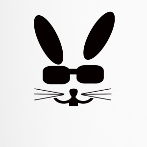 Eastern Bunny with sunglasses Rabbit Sunglasses - Travel Mug