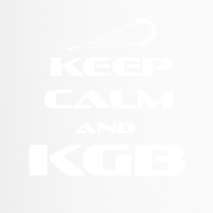 KITESURFING - KEEP CALM AND KGB - Thermobecher