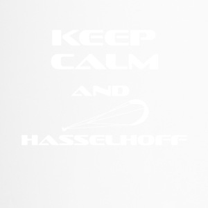 KITESURFING KEEP CALM AND HASSELHOFF - Thermobecher