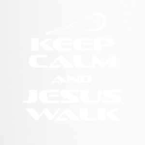 KITESURFING - KEEP CALM AND JESUS WALK - Thermobecher