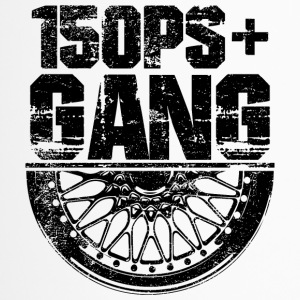 150 PS Gang Black - Thermobecher