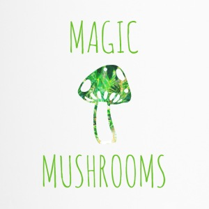 Magische Pilze magic mushrooms - Thermobecher