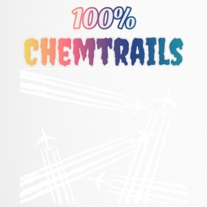 100 Chemtrails - Non Contrails - Mug thermos