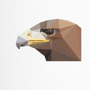 Eagle head proud Waffentier fly bird big eag - Travel Mug