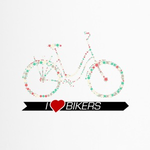 Bike Women's Cycling 2 Kreismuster - Travel Mug