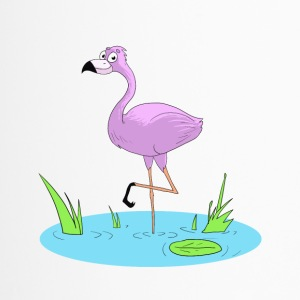 Pink Flamingo - Travel Mug