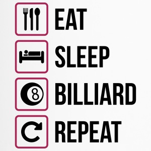 Eat Sleep Biljard Repeat - Termosmugg
