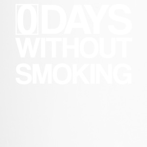 0 Days Without Smoking - Zero Smoke free - Travel Mug