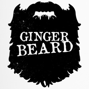 Mens Ginger Beard Men Club Bearded - bart - Thermobecher
