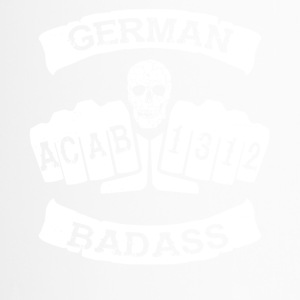 Allemand dur à cuire football Allemagne tatouage hooligan - Mug thermos