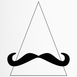 triangle moustache - Mug thermos