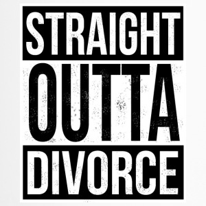 Straight Outta Divorce - Thermobecher
