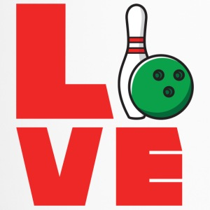 Bowling / Bowler: Love Bowling - Thermobecher