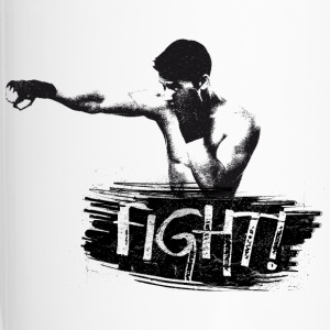 T-SHIRT DA UOMO FIGHT! - Tazza termica