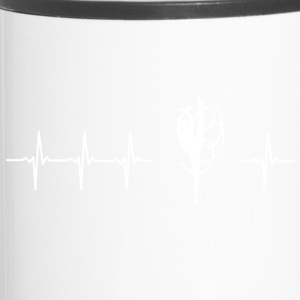 I love twirling (twirling heartbeat) - Travel Mug