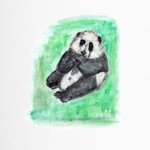 Scruffy Panda - Thermobecher