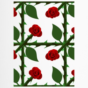 Red Rose Pattern - Termokopp