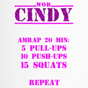 WOD Cindy - Thermobecher