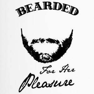 Bearded for her pleasure - bart - Thermobecher