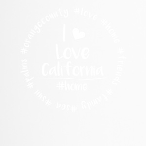 I love California - Orange County - Thermobecher