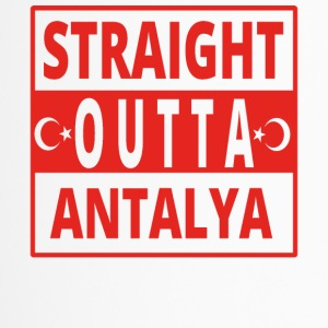 straight outta Antalya TUeRKEI - Thermobecher
