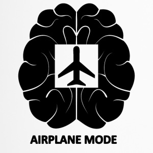 brainairplanemode blak - Thermobecher