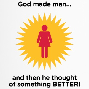 God Created Adam & Eve.And Then Something Better! - Thermo mok