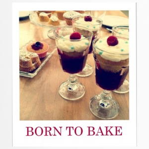 Born to bake - Travel Mug