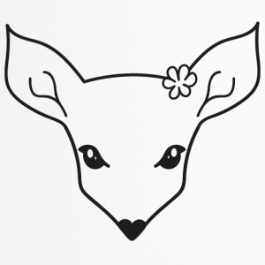 little fawn t-shirt - Tazza termica