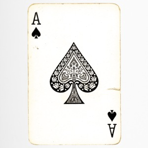Games Card Ace Of Spades - Travel Mug