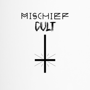 Mischief Cult | Upside Down Cross Design | Occult - Travel Mug