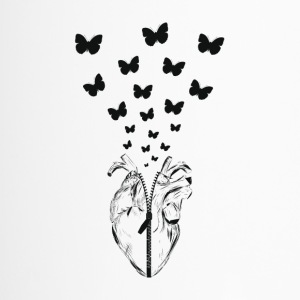 HEART BUTTERFLY - Thermobecher