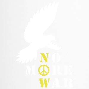 No More War Now Silhouette - Thermobecher