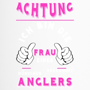 Frau eines Anglers - Thermobecher