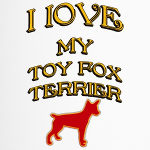 J'AIME MON DOG Toy Fox Terrier - Mug thermos