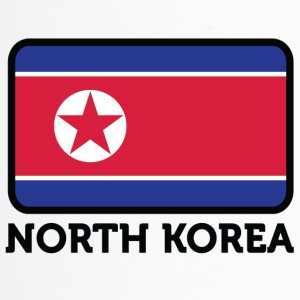 Nationalflagge von Nordkorea - Thermobecher