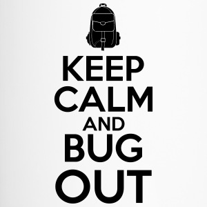Keep Calm and Bug Out - Thermobecher