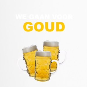 WE GO FOR GOLD - Travel Mug