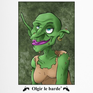Goblin portrait - Travel Mug