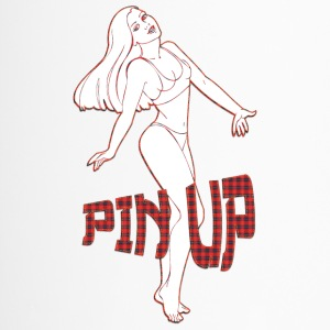 pin up girl 2 - Kubek termiczny
