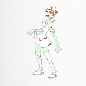 Collection Zombie: Zombie Nurse. - Mug thermos