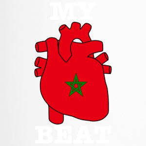 Morocco Marokko المغرب MY HEART BEAT - Thermobecher