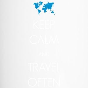 Keep calm and travel often - Thermobecher