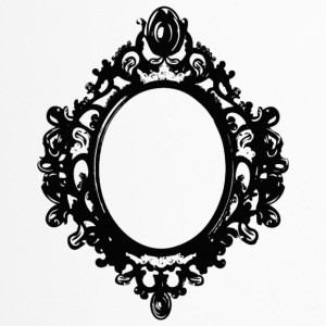 black mirror frame by berrykissed - Taza termo