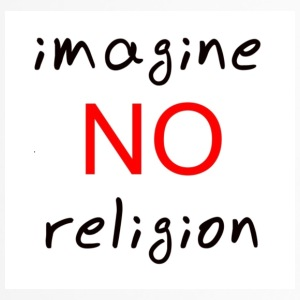 no religion - Taza termo