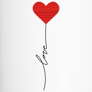 Love balloon - Thermobecher