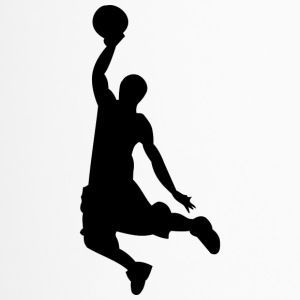 Basketball silhouette - Travel Mug